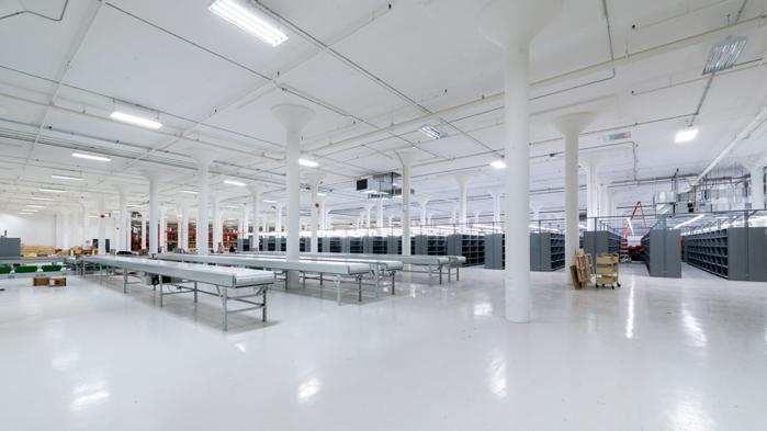Vergo - Centre de distribution Renaud Bray - Montréal